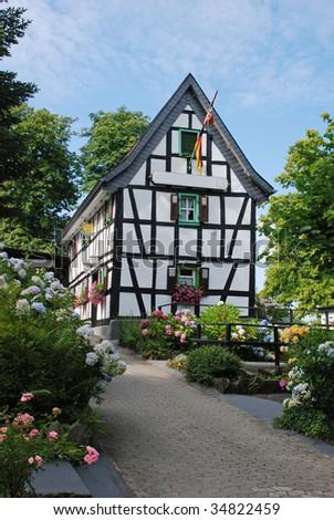 Country Inn - Koenigswinter, Rhine - stock photo