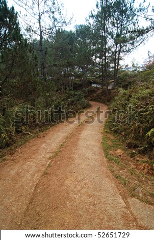 Country Pathway - stock photo