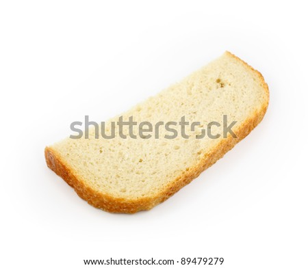 Country White Bread Slice
