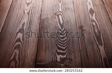 Country wooden table background texture - stock photo