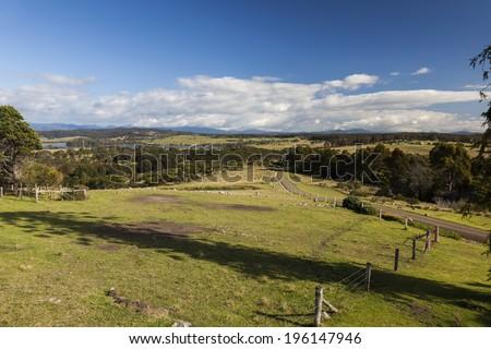 Countryside landscape. Bingie (near Morua) . NSW. Australia - stock photo