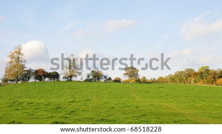 Countryside View - stock photo