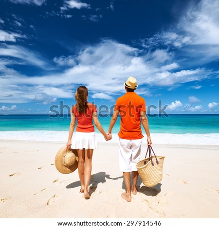 Happy beautiful family on caribbean holiday stock photo for Tropical vacations for couples