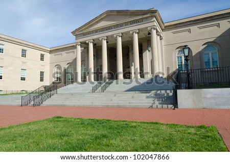 Court of Appeals building in Washington, DC