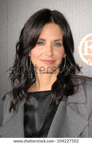 Courteney Cox at the TV GUIDE Magazine's Hot List Party, SLS Hotel, Los Angeles, CA. 11-10-09