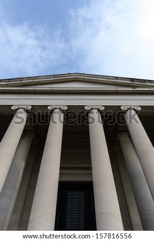 Courthouse Building - stock photo