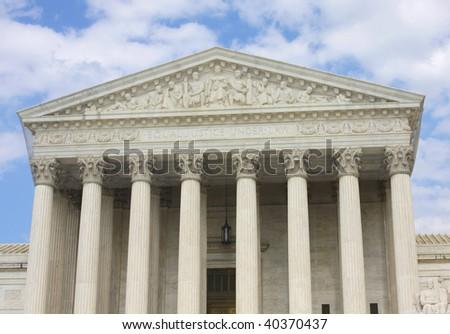 Courthouse in Washington - stock photo