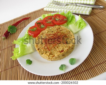 Couscous with chili