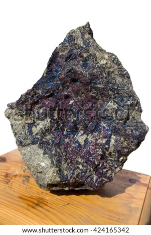 Covellite mineral - stock photo