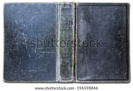Cover Book - Ancient - stock photo