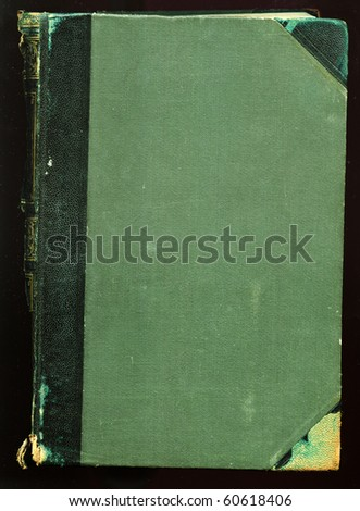 Cover of antique book - stock photo