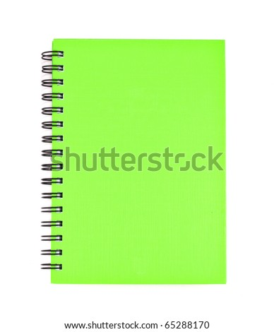 cover of Note book Horizontal