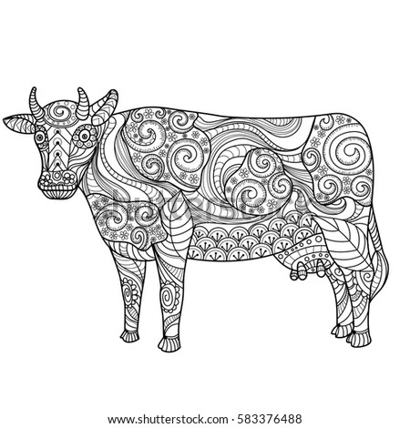 87 Anti Stress Coloring Book Animals