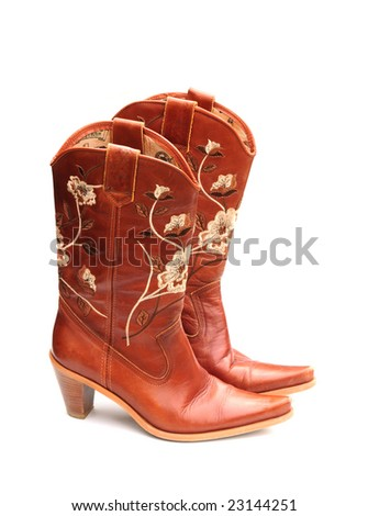 Cowboy boots - stock photo