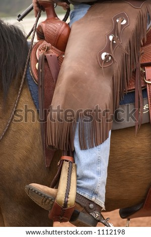 Cowboy tools of the trade - stock photo