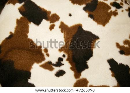Cowhide dapple background - stock photo