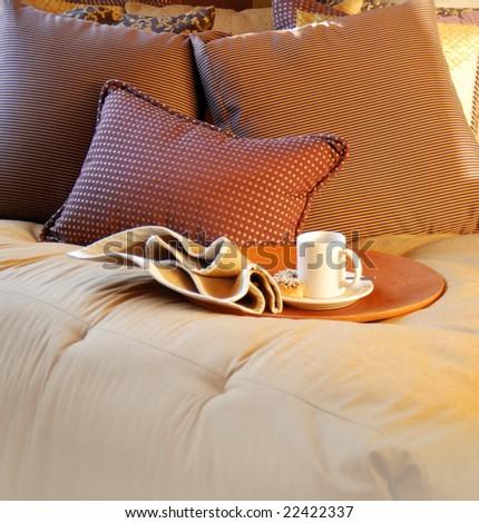 Cozy Bedroom Interior Design - stock photo