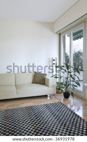 cozy modern flat - stock photo