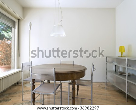 cozy modern flat - stock photo