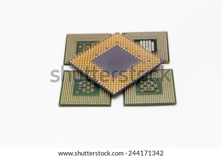 CPU - stock photo