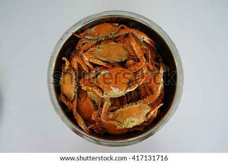 crab boil - stock photo