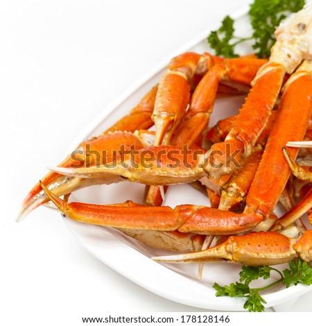 Crab legs - stock photo