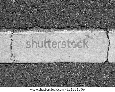 crack asphalt road texture - stock photo