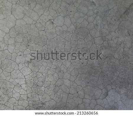 crack cement texture surface background  - stock photo