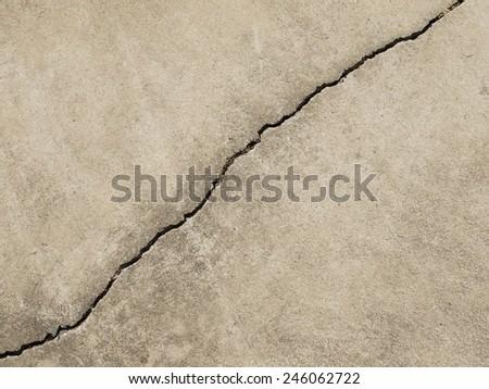 crack floor texture - stock photo