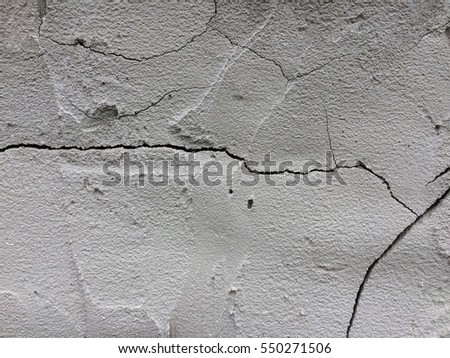 Crack rough cement texture for background