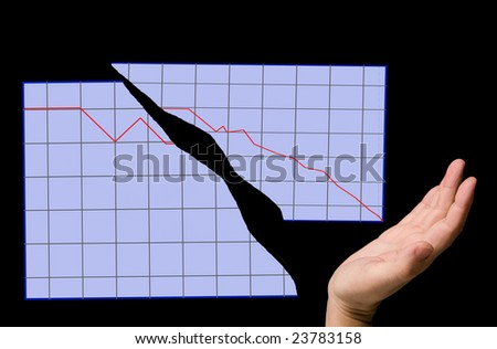 crack time - stock photo