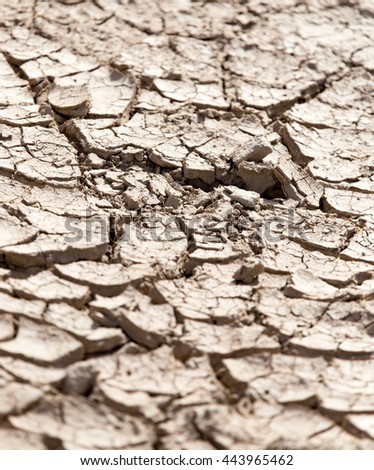 cracked dry earth as a background