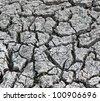 Cracked ground background - stock photo