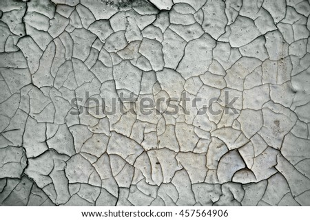 Cracked old paint, pattern, background, texture