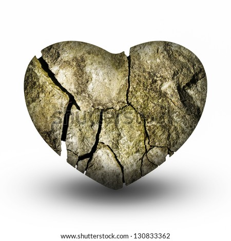 Heart of stone Stock Photos, Images, & Pictures