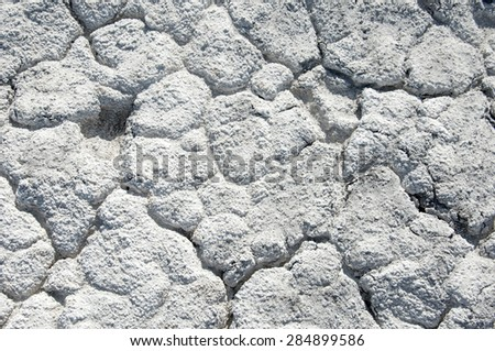 Cracks in the ground. drought. soil erosion, cracked texture. Dry cracked ground.  - stock photo
