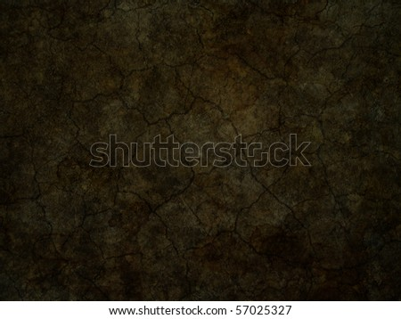 cracky soil background - stock photo