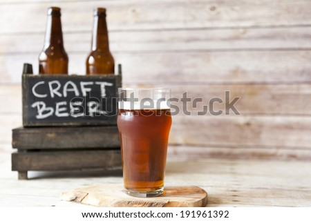 Craft Beer - stock photo