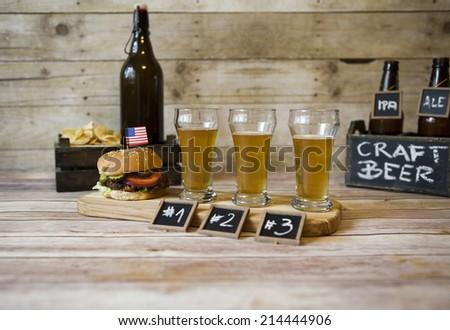 beer tasting stock photo 189685937 shutterstock. Black Bedroom Furniture Sets. Home Design Ideas