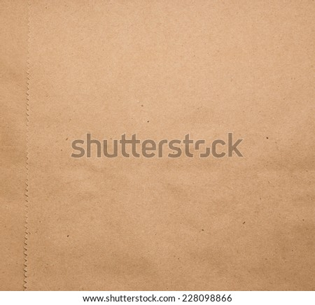 Craft eco textured paper sheet background beige color for cards, package and other design ideas beige color - stock photo