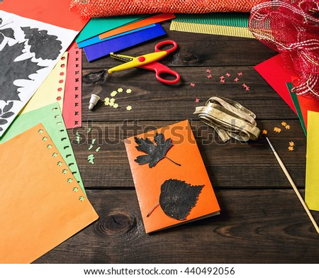 Card making stock images royalty free images vectors for Craft paper card stock