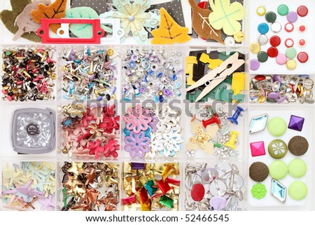 Craft materials - stock photo