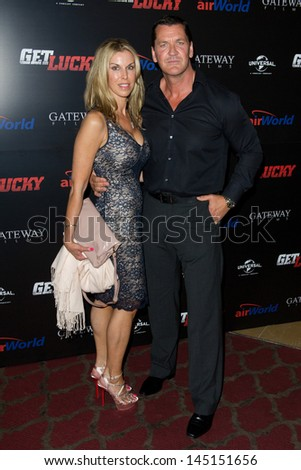 Craig Fairbrass arriving  for the UK premiere of Get Lucky, Mayfair Hotel, London. 04/07/2013 - stock photo