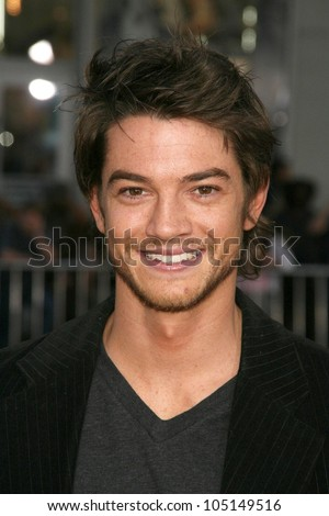 Craig Horner  at the World Premiere of 'Drag Me To Hell'. Grauman's Chinese Theatre, Hollywood, CA. 05-12-09 - stock photo