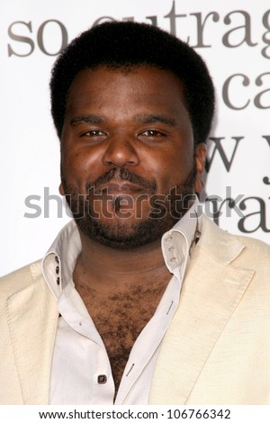Craig Robinson  at the Los Angeles Premiere of 'Zack and Miri make a porno'. Grauman's Chinese Theater, Hollywood, CA. 10-20-08 - stock photo