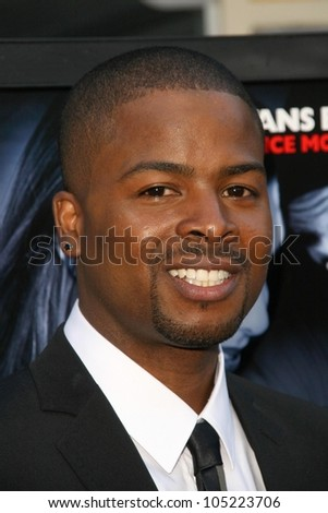 Craig Wayans  at the Los Angeles Premiere of 'Dance Flick'. Arclight Hollywood, Hollywood, CA. 05-20-09 - stock photo