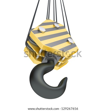 Hook up lifting equipment