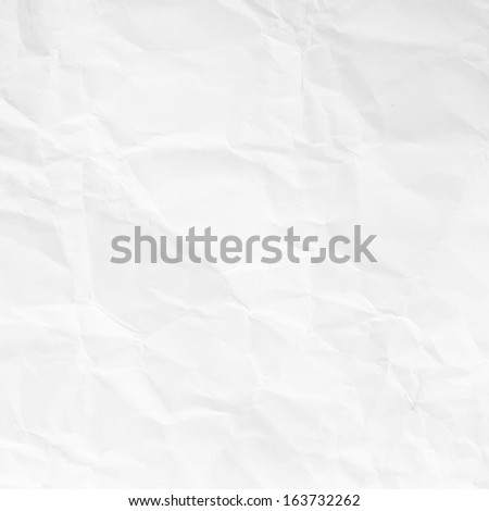 Crashed paper background or texture - stock photo