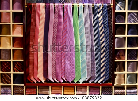 Cravat collection - stock photo