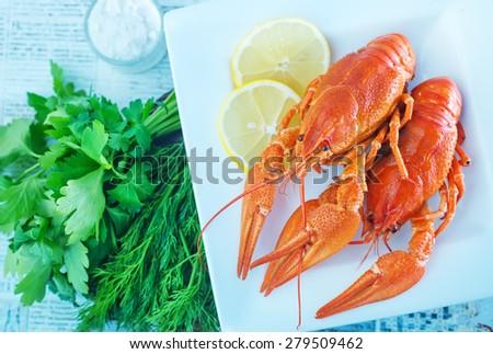 Crayfish  - stock photo